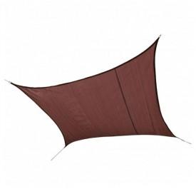 Πανί Σκίασης 90% Μπορντώ Τετράγωνο 4,9 m. Shelter Logic 25673